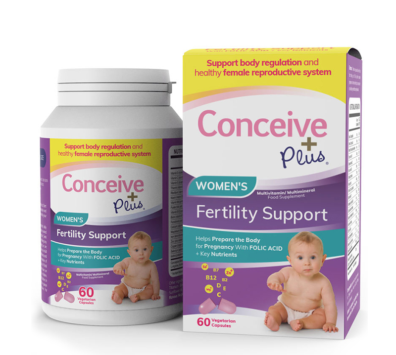 Conceive Plus Women's Fertility Support