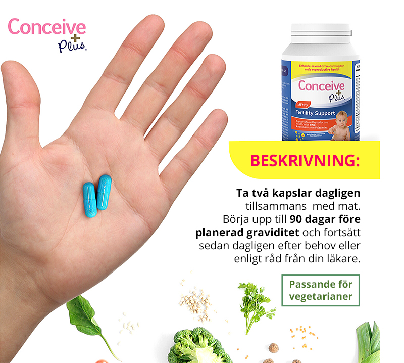Conceive Plus Man fertilitetstillskott